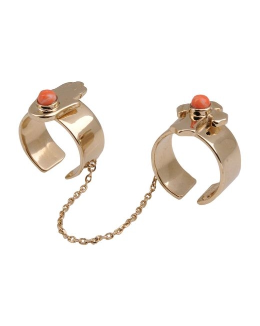 Roberto Cavalli   Metallic Ring   Lyst