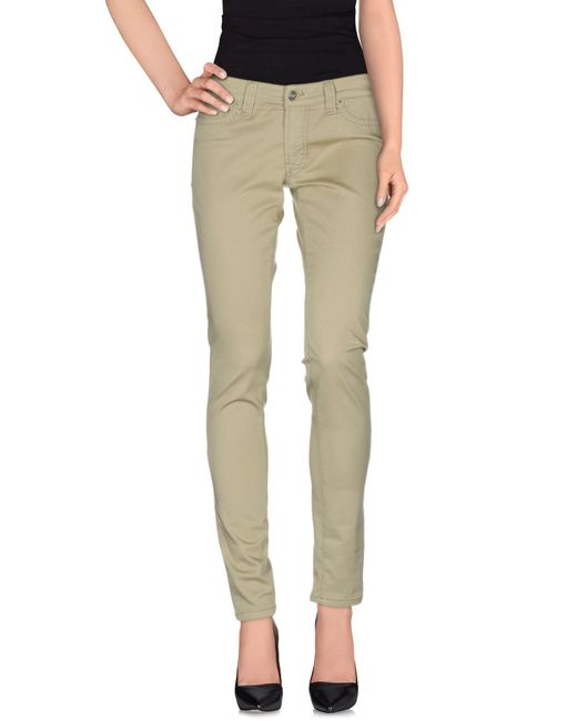 S.o.s By Orza Studio | Green Casual Pants | Lyst