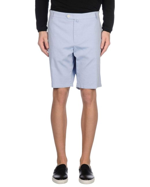 Pedro Del Hierro Madrid - Blue Bermudas for Men - Lyst