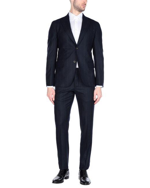 Eleventy Blue Suit for men