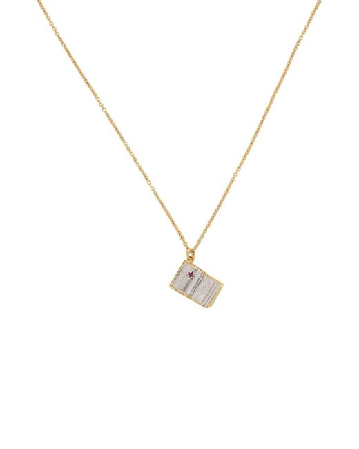 Alex Monroe - Metallic Necklace - Lyst