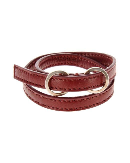 Maison Margiela - Red Bracelet - Lyst