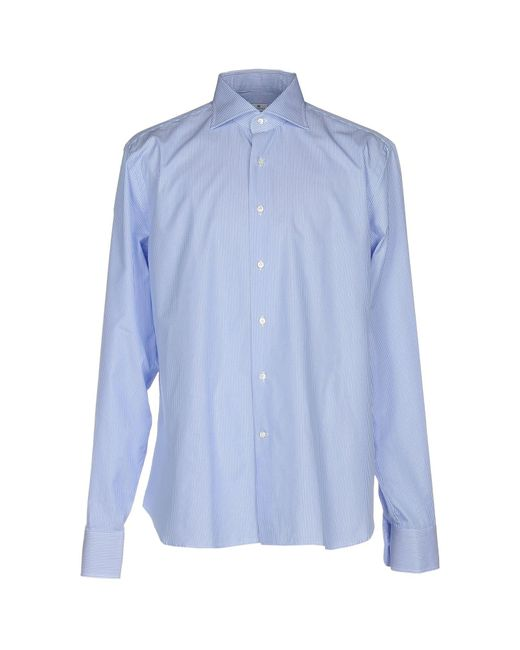 Sonrisa - Blue Shirts for Men - Lyst