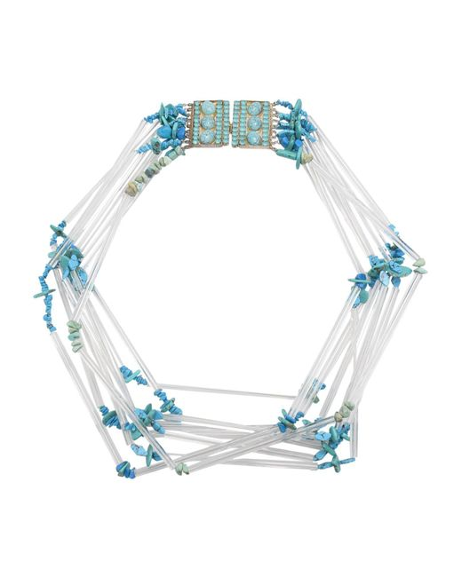First People First - Blue Necklaces - Lyst