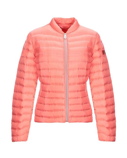 Peuterey - Pink Synthetic Down Jacket - Lyst