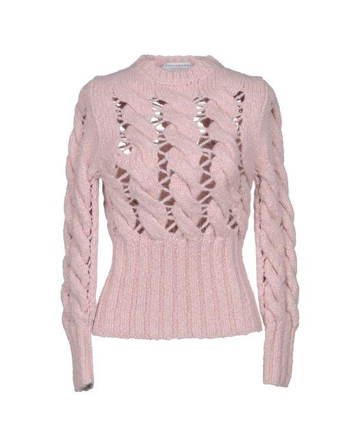 Philosophy Di Lorenzo Serafini - Pink Sweaters - Lyst
