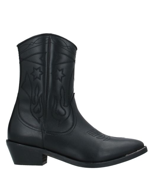 Catarina Martins Black Ankle Boots