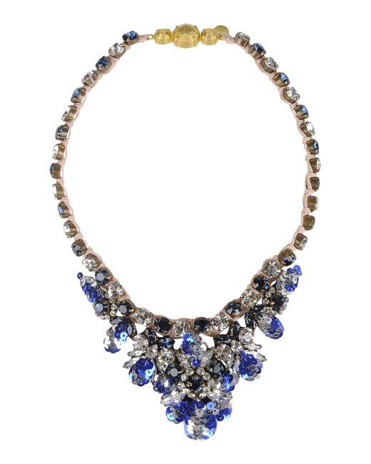 Shourouk - Blue Necklaces - Lyst