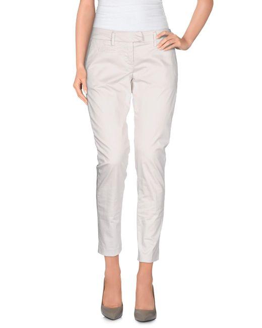 Dondup | Gray Casual Pants | Lyst