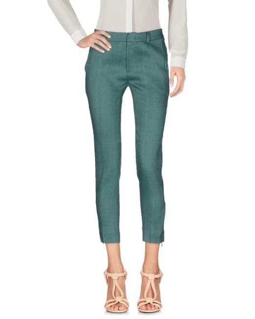 L'Autre Chose Green Casual Pants