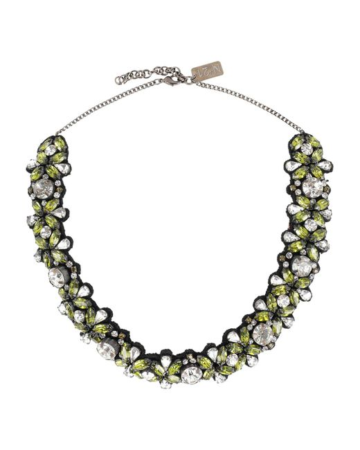 N°21 - Green Necklace - Lyst