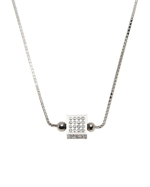 Fendi - Metallic Necklace - Lyst