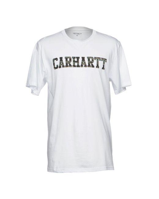 Carhartt | White T-shirt for Men | Lyst