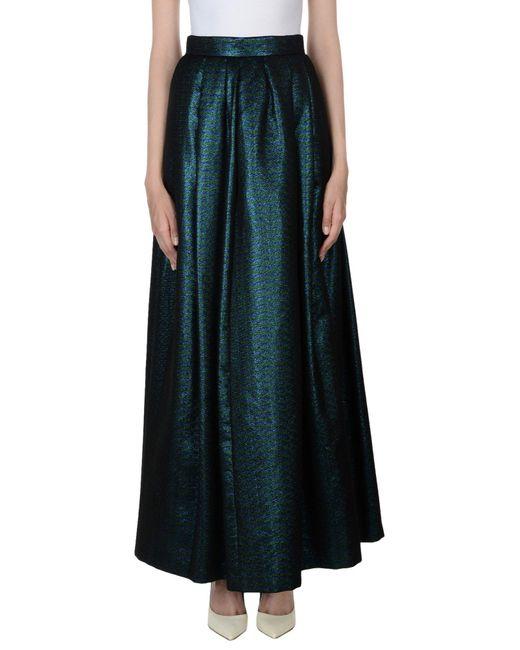 Ultrachic - Blue Long Skirt - Lyst