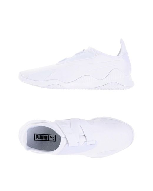 PUMA - White Low-tops & Sneakers for Men - Lyst