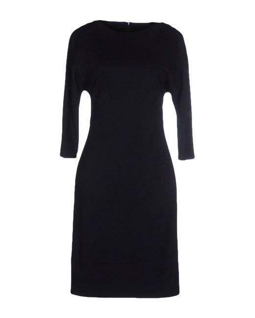 Les Copains - Blue Knee-length Dress - Lyst