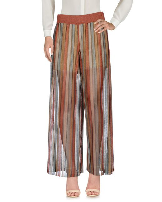 Jucca - Brown Casual Pants - Lyst
