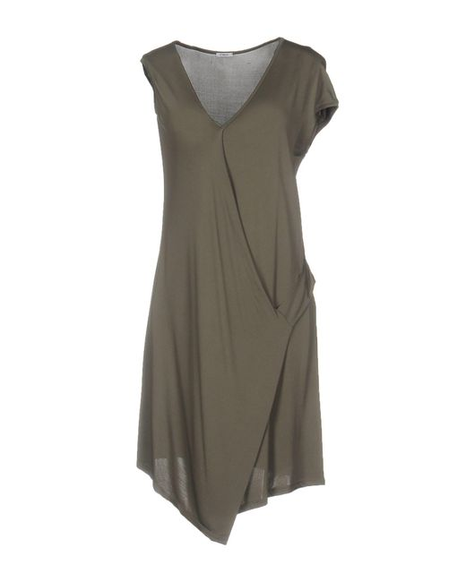 Crea Concept - Green Short Dress - Lyst
