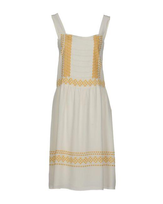 Vanessa Bruno | White Knee-length Dress | Lyst