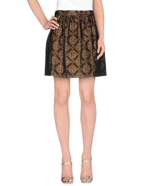 Shirtaporter   Gray Mini Skirts   Lyst