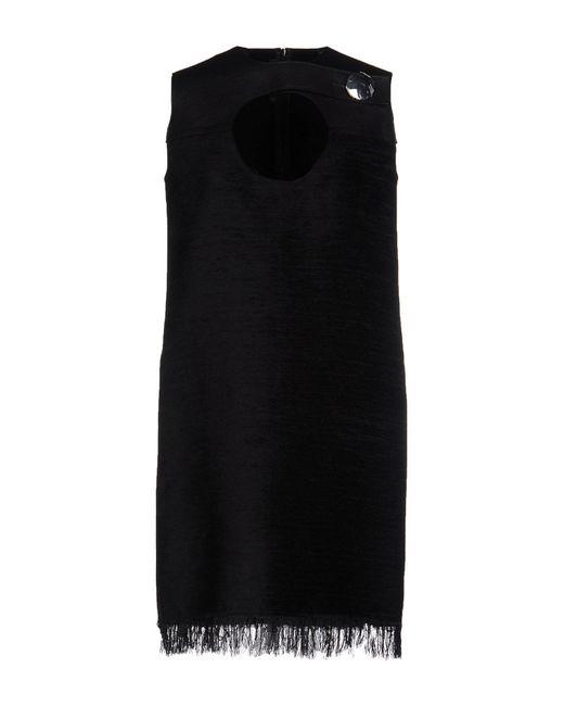 Calvin Klein | Black Short Dress | Lyst