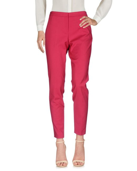 Guess - Red Casual Pants - Lyst
