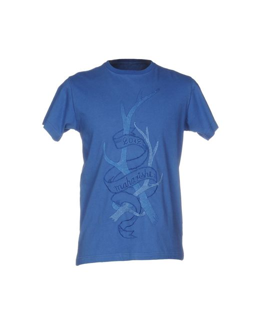 Maharishi - Blue T-shirts for Men - Lyst