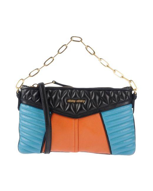 Miu Miu - Orange Handbag - Lyst