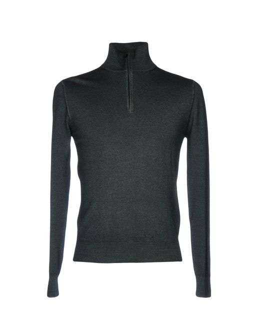Cruciani - Green Turtlenecks for Men - Lyst
