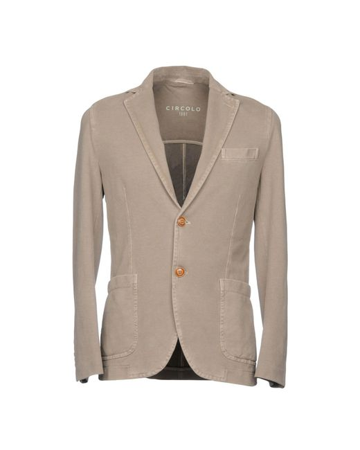 Circolo 1901 - Gray Blazer for Men - Lyst