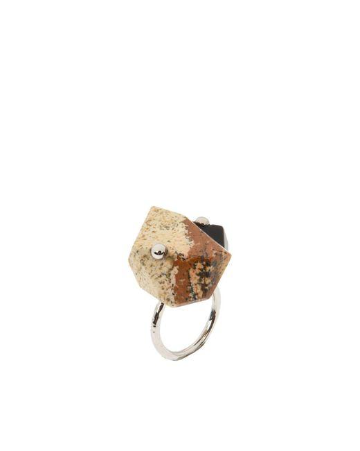 Acne | Metallic Ring | Lyst