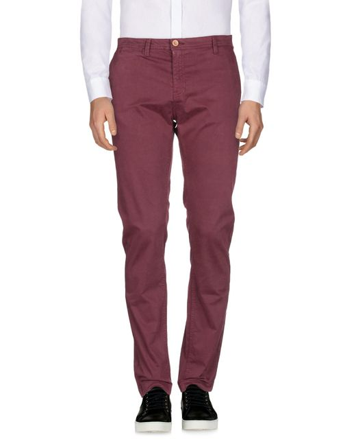 U.S. POLO ASSN. - Purple Casual Trouser for Men - Lyst