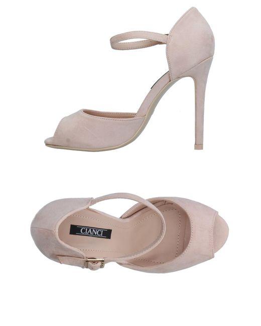 Cianci - Natural Sandals - Lyst