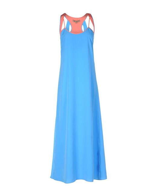 Space Style Concept - Blue Long Dress - Lyst