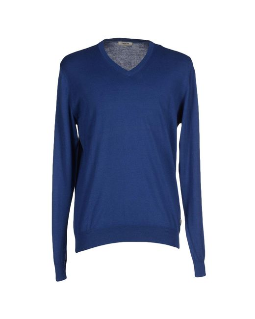 Geox - Blue Jumper for Men - Lyst