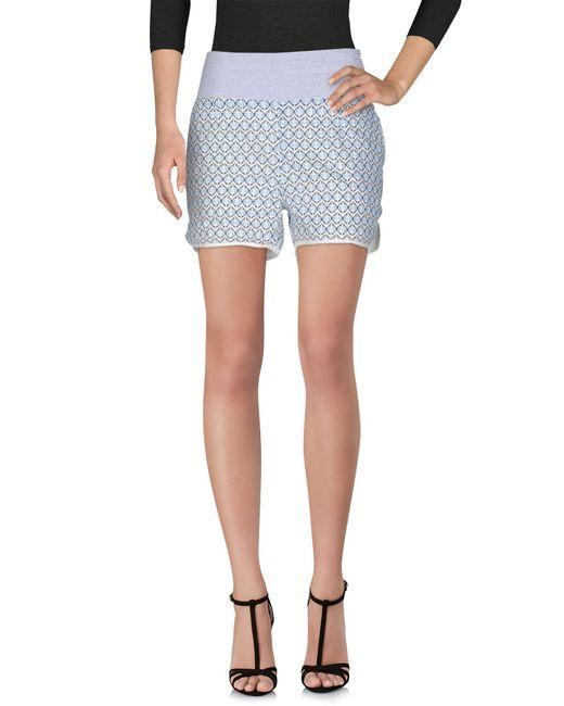 Indi & Cold - White Shorts - Lyst