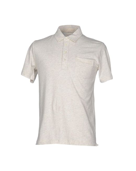 Billy Reid - Gray Polo Shirts for Men - Lyst
