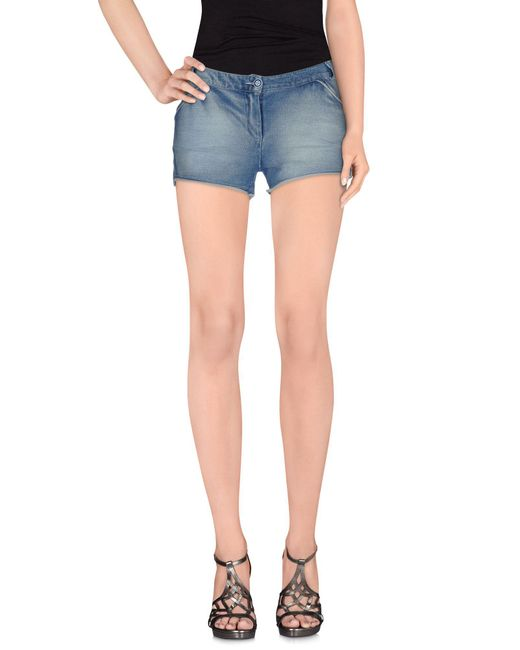 Odi Et Amo   Blue Denim Shorts   Lyst