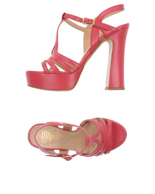 Ovye' By Cristina Lucchi - Purple Sandals - Lyst