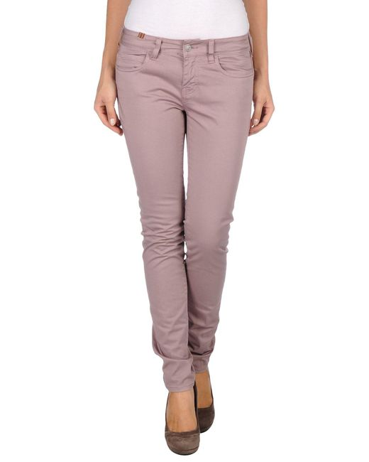 Notify - Pink Casual Trouser - Lyst