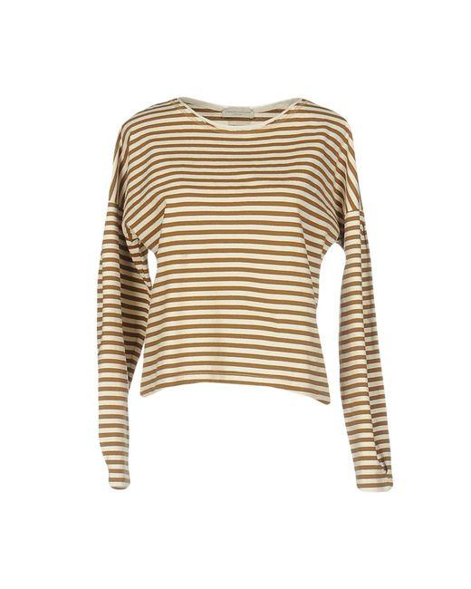 Roberto Collina - Natural T-shirts - Lyst