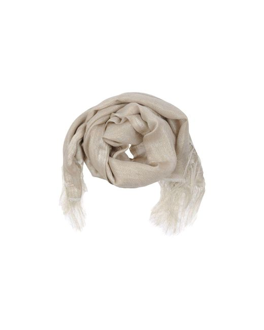 Destin - Natural Scarf - Lyst