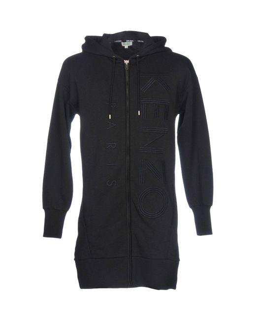 KENZO - Black Sweatshirts for Men - Lyst