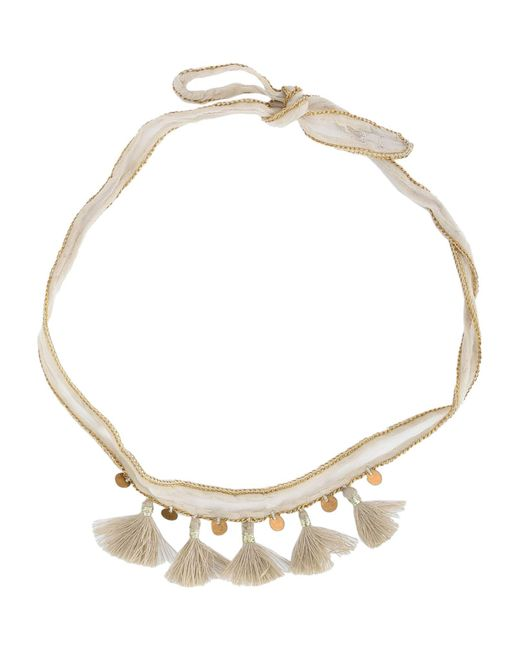 Chan Luu | White Necklace | Lyst