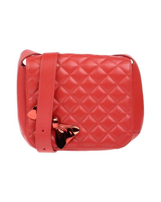 Boutique Moschino - Red Cross-body Bag - Lyst
