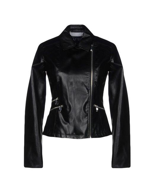 Armani Jeans - Black Jacket - Lyst
