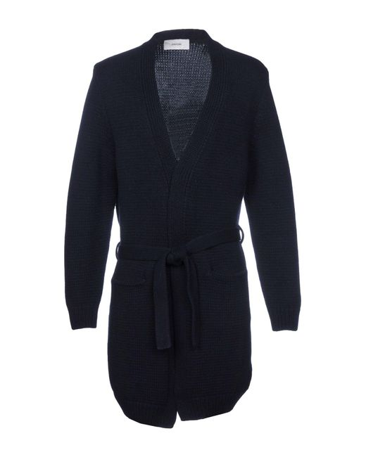 Mauro Grifoni - Blue Cardigan for Men - Lyst