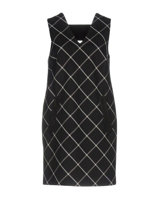 Rag & Bone - Black Short Dress - Lyst