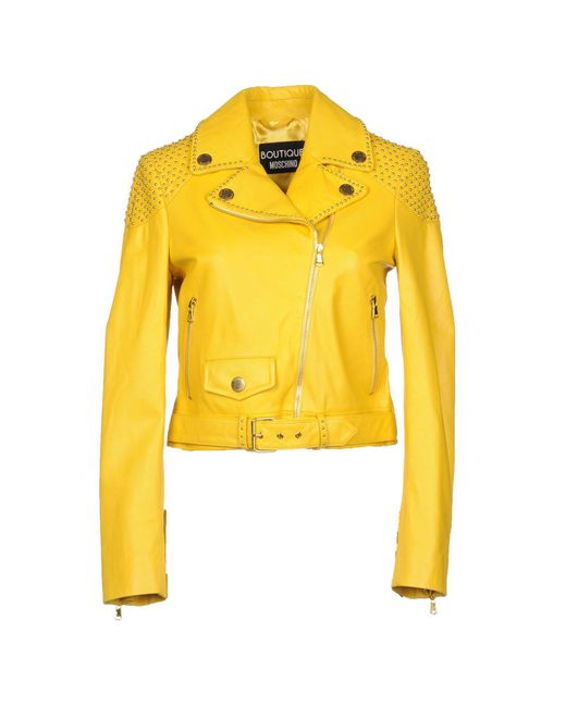 Boutique Moschino - Yellow Jacket - Lyst