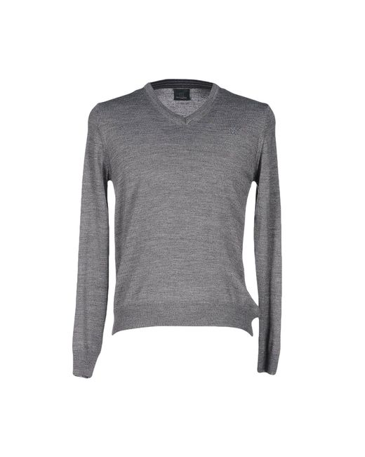 Henry Cotton's - Gray Sweaters for Men - Lyst